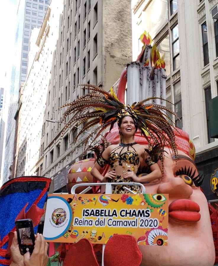 Carnaval de Barranquilla le puso ritmo al Desfile de la Hispanidad en New York