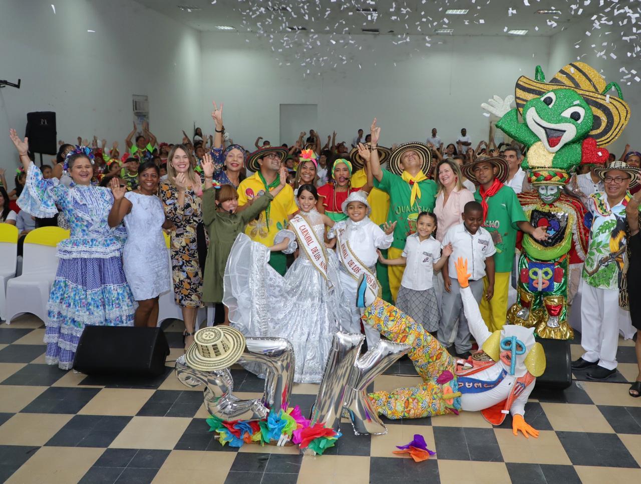 Con 27 mil niños beneficiados durante cuatro años finaliza 'El Viaje del Carnaval