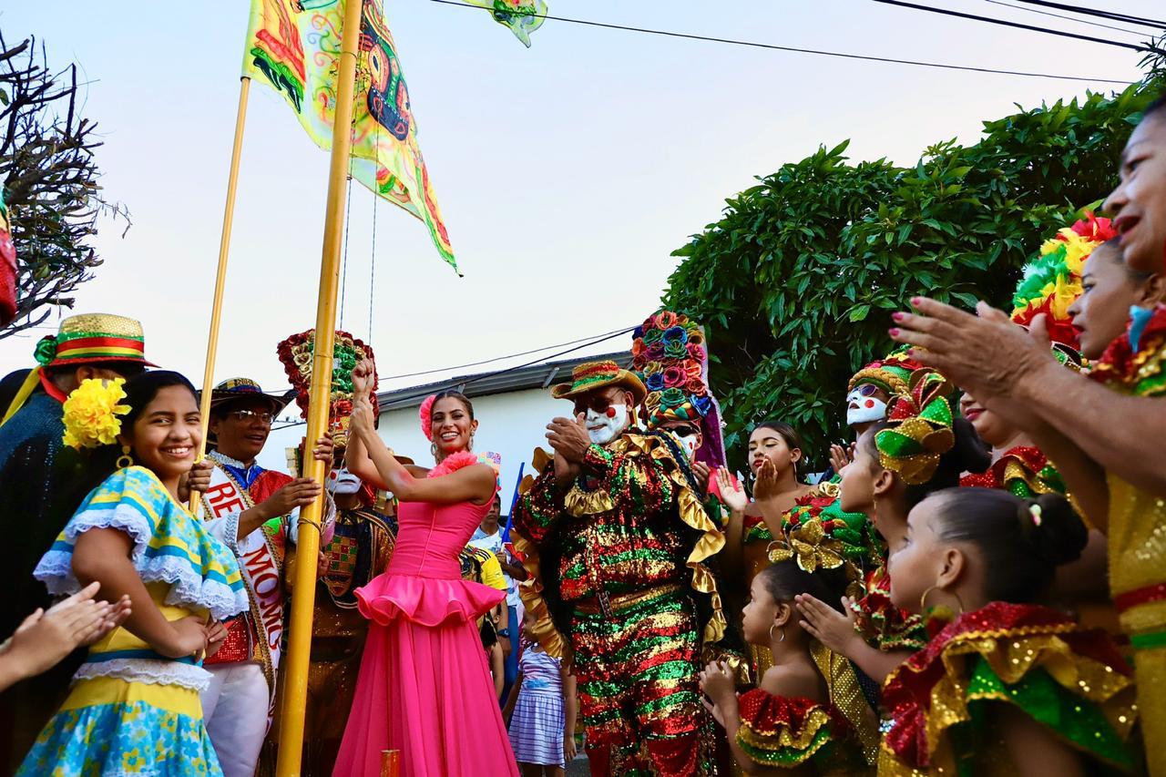 El Congo Grande celebró 144 años con Izada de su bandera