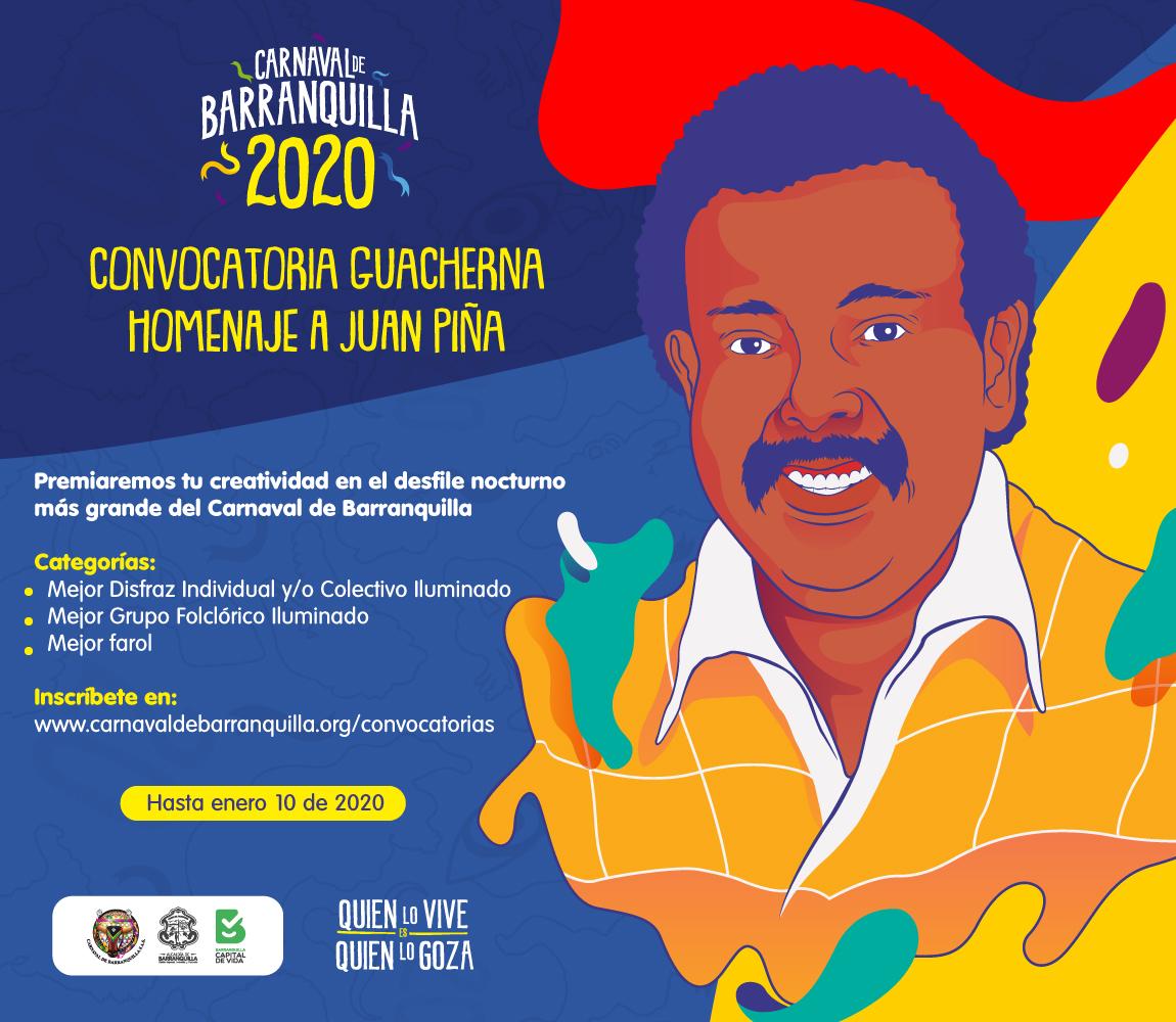 Abiertas inscripciones de faroles, grupos y disfraces iluminados para Guacherna 2020