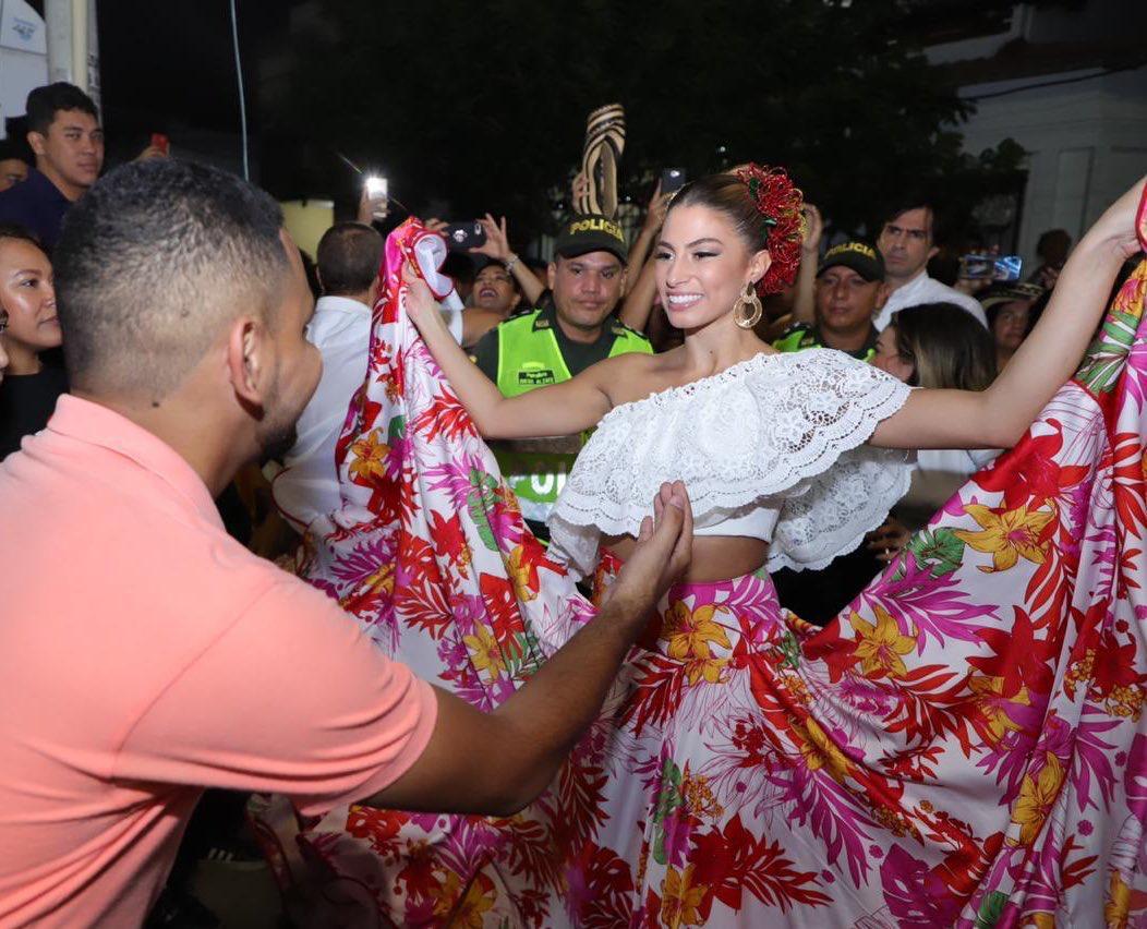 Con Rueda de cumbia, Isabella comenzó el 2020 ¡Pa' que lo viva la gente!