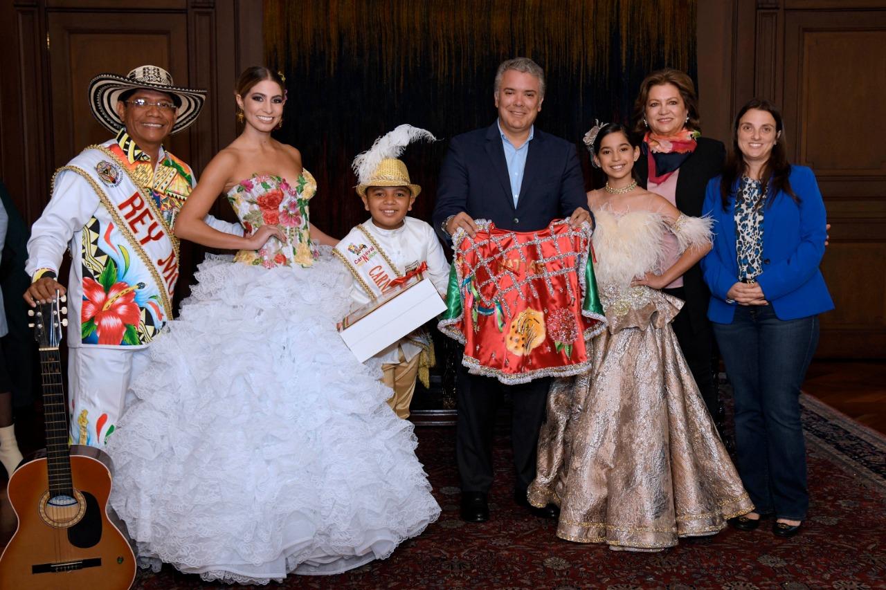 Presidente Iván Duque, nombrado 'Gran Caporal del Carnaval 2020'