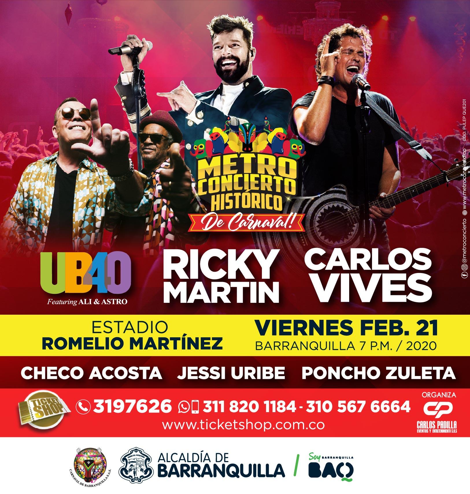 Con espectáculo internacional abre  el Carnaval de Barranquilla 2020