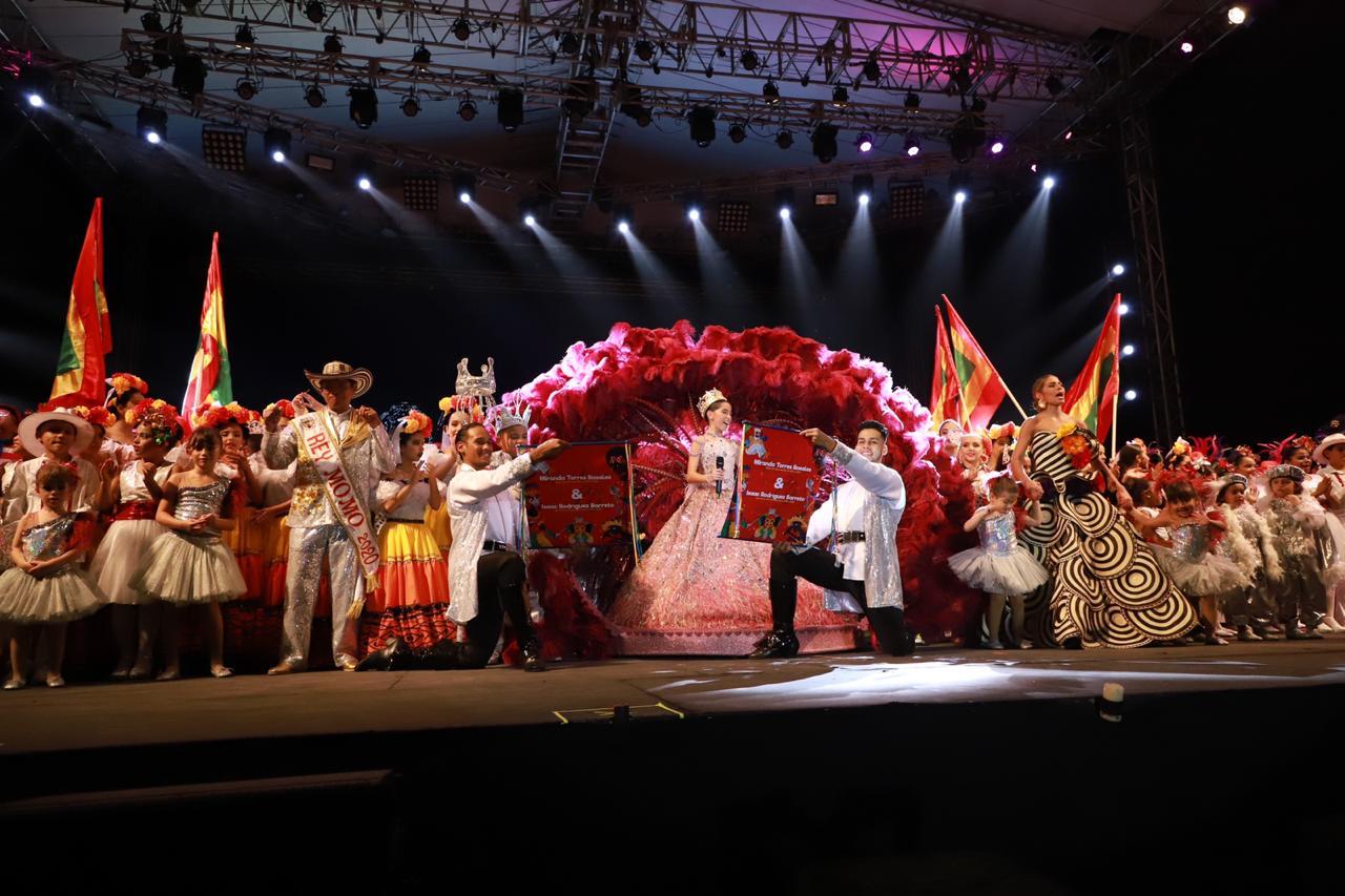 Una gran Fiesta vivieron los carnavaleritos en la coronación de Miranda e Isaac