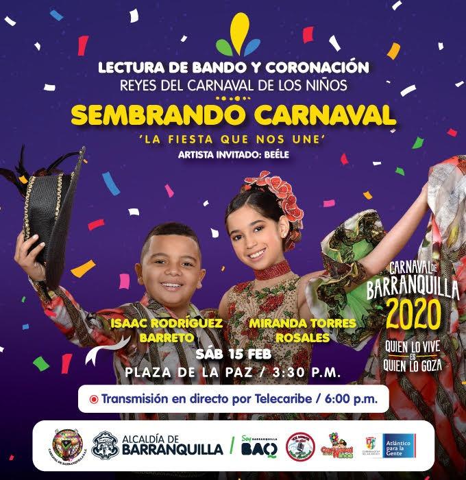 Fin de semana de Carnaval para niños