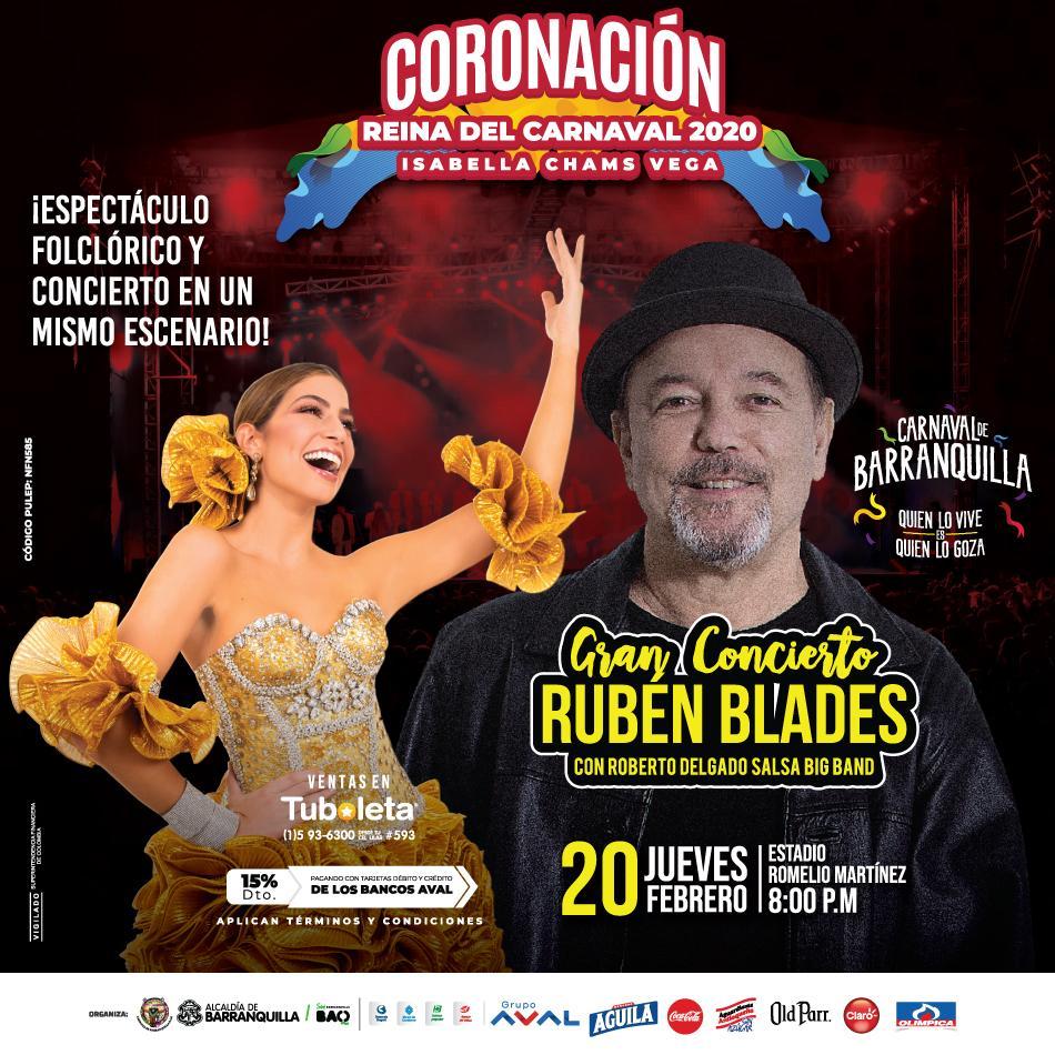 'Homenaje a los grandes' en coronación de la  Reina del Carnaval 2020