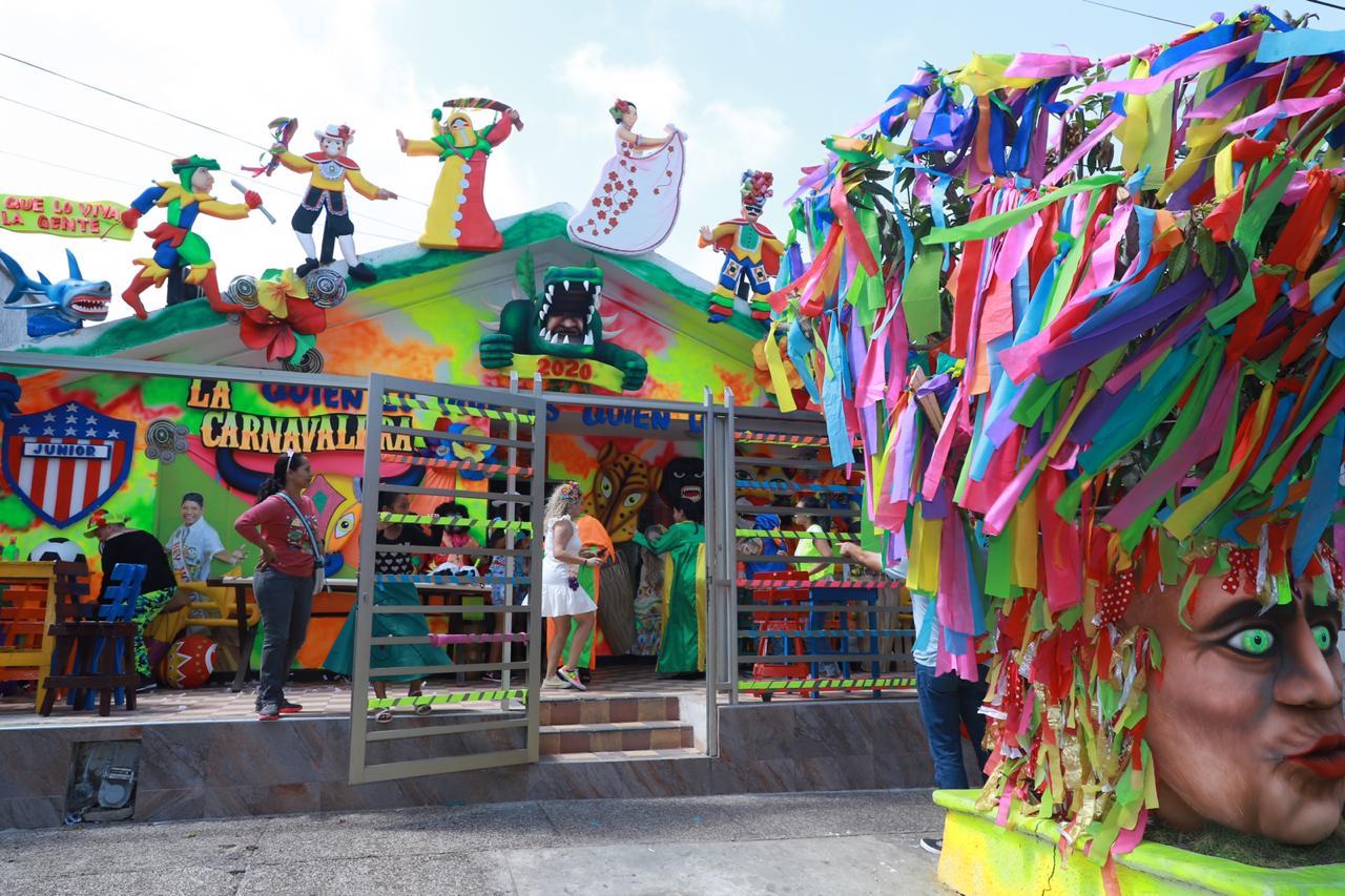Fachadas ganadoras rinden homenaje al  Carnaval de la gente