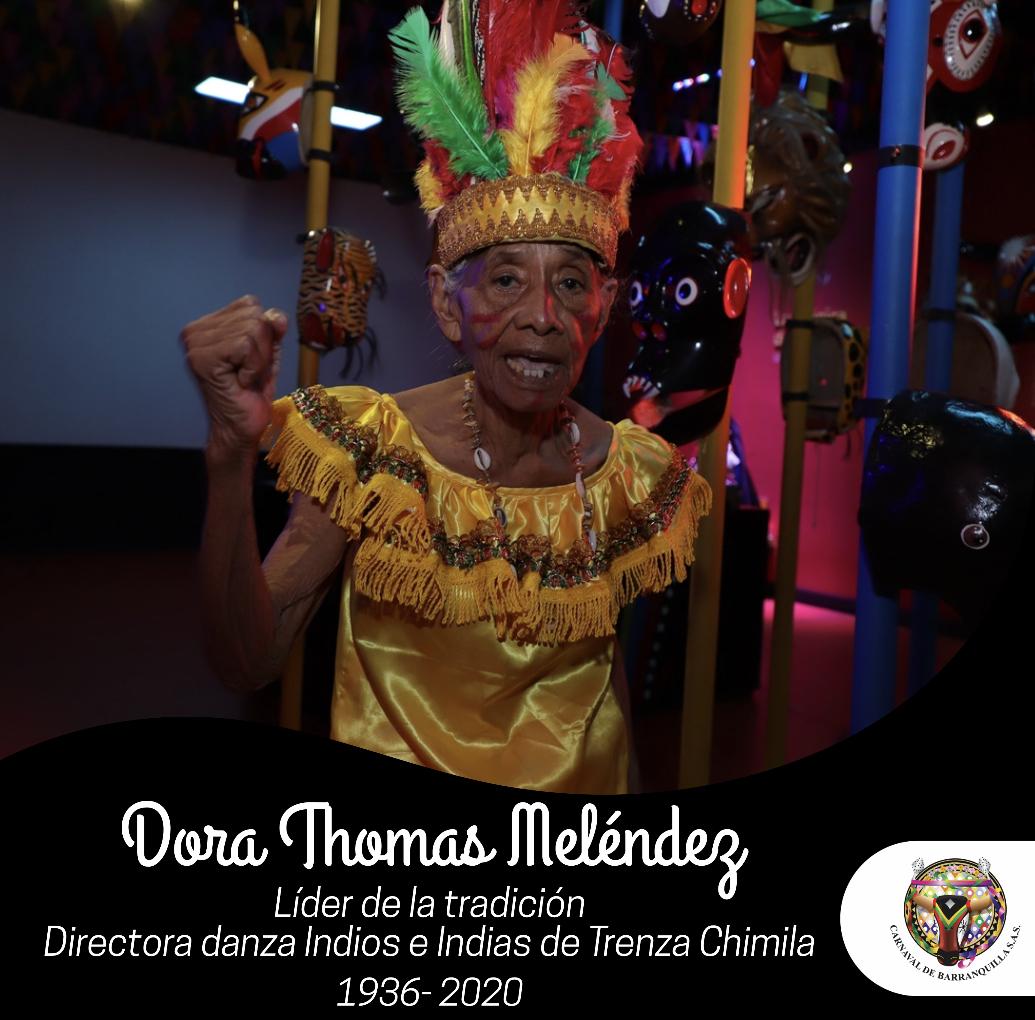 Hasta siempre Dora, guardiana de la herencia Chimila
