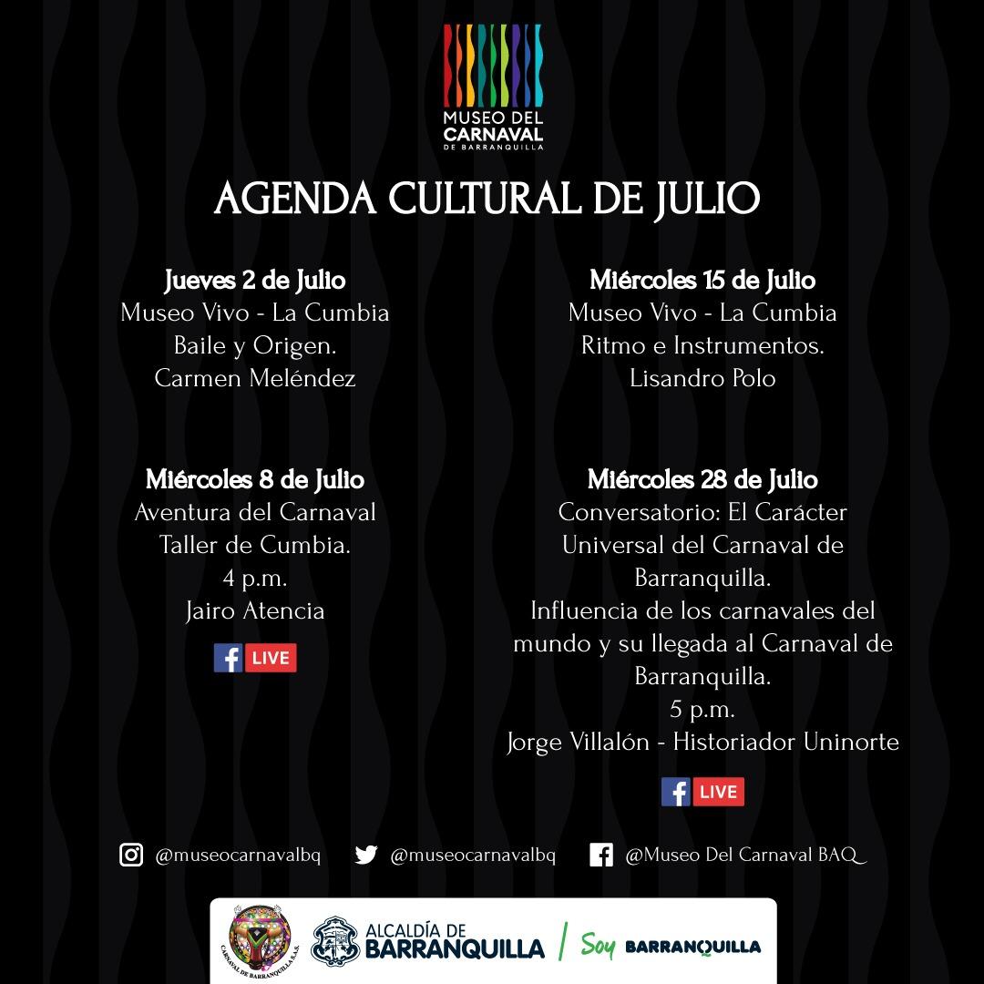 Museo del Carnaval dedica agenda de Julio al baile nacional: La Cumbia