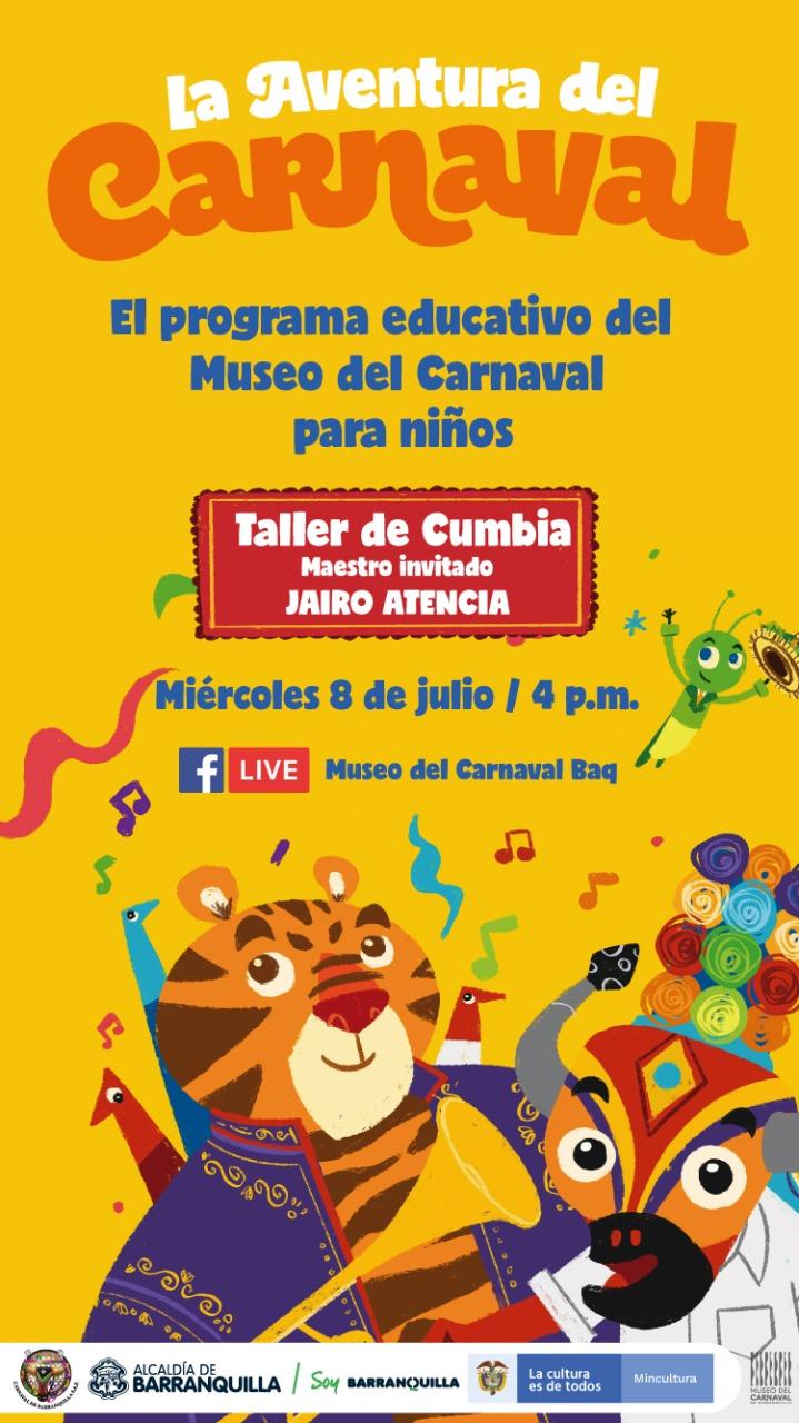 Museo del Carnaval presenta Aventura para niños