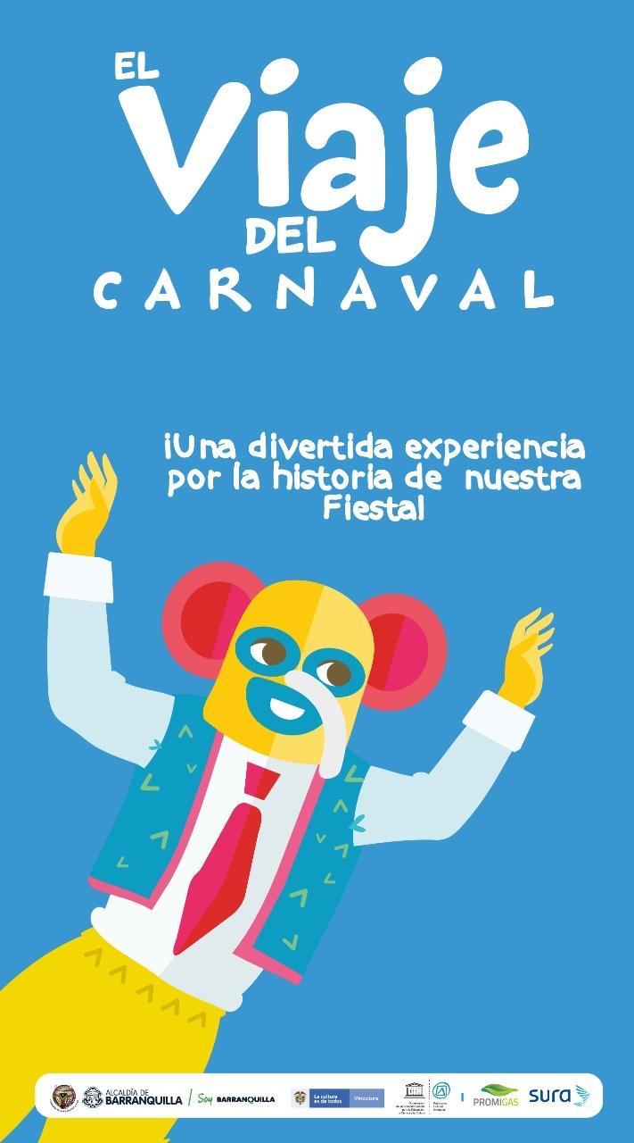 'El Viaje del Carnaval'  emprende su quinto vuelo de forma virtual