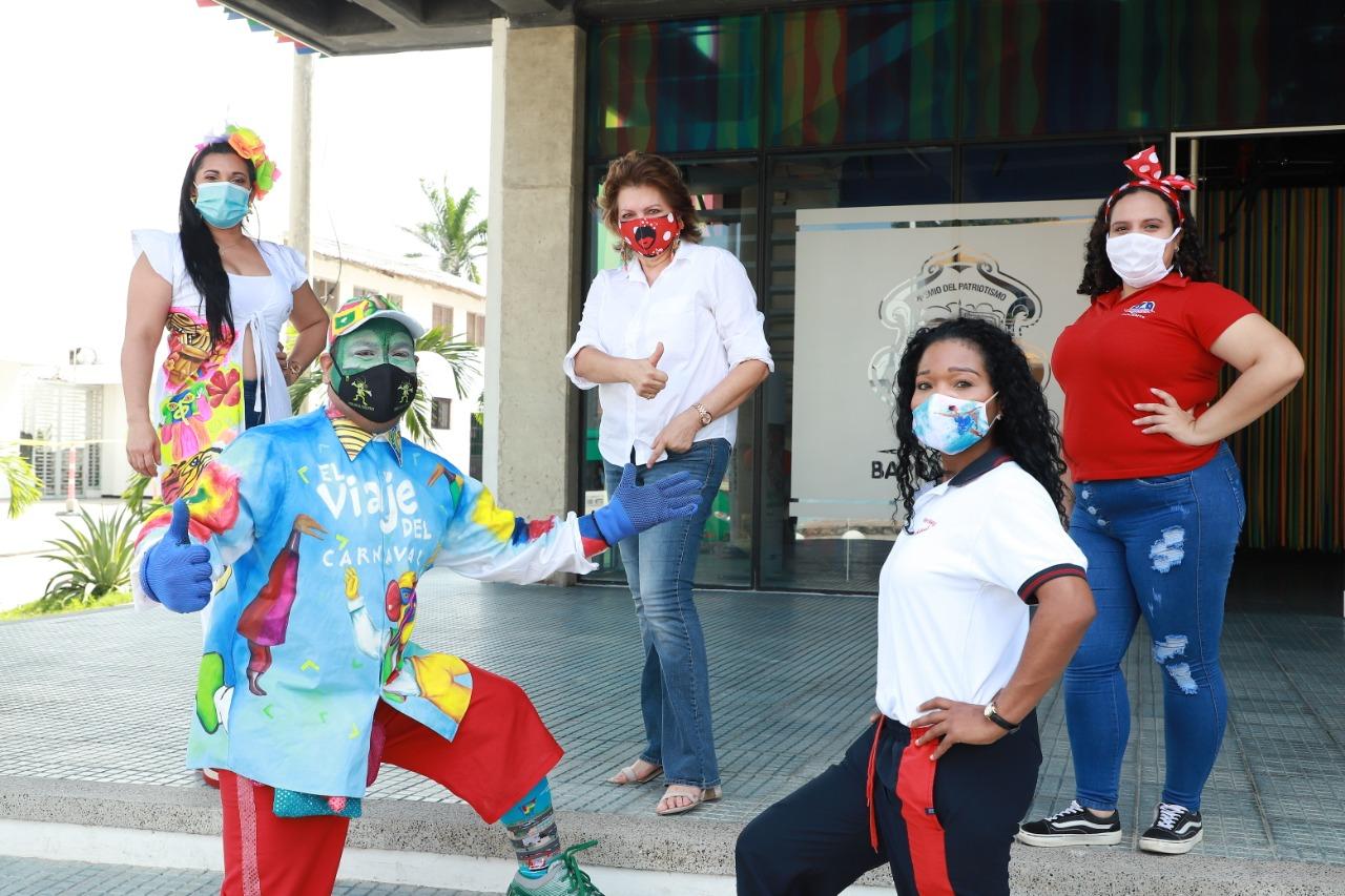 El Viaje del Carnaval se adaptó a plataformas digitales, llegando a 2800 familias en casa