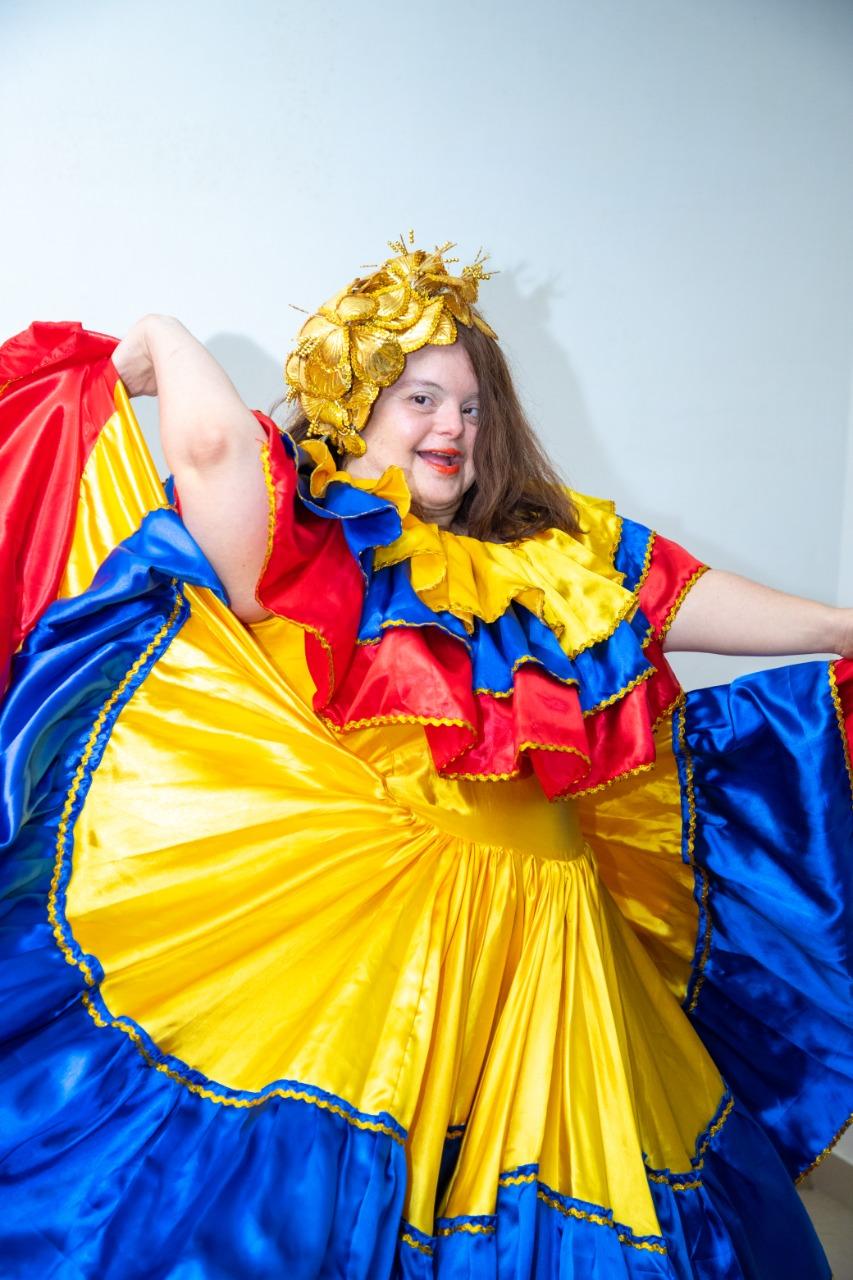 Michela Maury Oñoro, una capacidad especial de amor por el Carnaval de Barranquilla