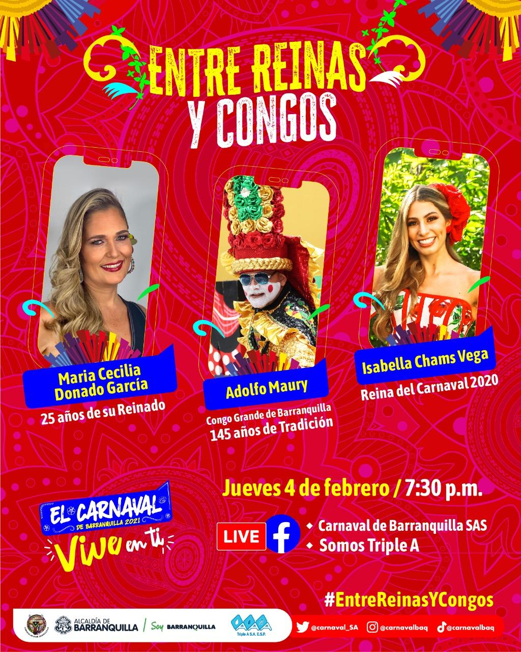 Conversatorio 'Entre Reinas y Congos'